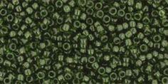 Rocallas - 15/0 Toho Rocallas 5g Olivino verde 15-940 - hecho a mano por TohoSeeds en DaWanda
