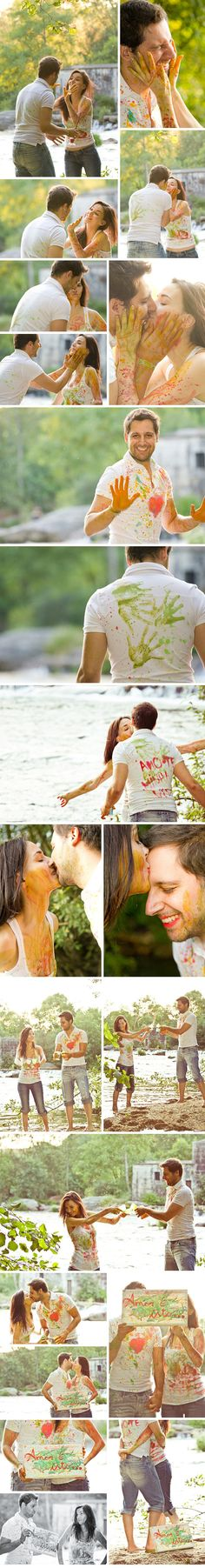 fun! engagement pics! I so want someone to do something like this!!!