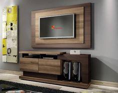 Rack Fusion Com Painel Para Tv Roma Capuccino Wood Com Ebano - Linea Brasil.   Por R$468,00 ou até 10x de R$46,80 sem juros no Cartão de Crédito ou com 10% de desconto R$421,20 http://ow.ly/pBSr7