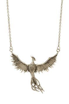 Bird necklace phoenix necklace phoenix pendant fantasy necklace phoenix necklace by skova 5750 mozeypictures Image collections