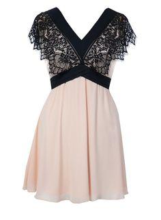 798508c84c7f Elise Ryan Eyelash Lace Panel Dress - Robes - Vêtements - Dorothy Perkins  France Dentelle,