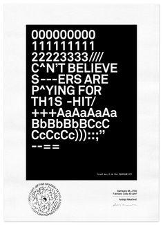 TYPO edition | Andrija Nikacevic for #lasersummit | theme FOR YOUR ON GOOD | #print #art #artwork #design #illustration