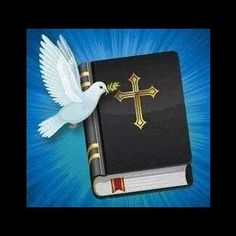 Bible and Dove Music Page, Thy Word, King James Bible, Gospel Music, Virgin Mary, Holy Spirit, Life Is Beautiful, Christianity, Holiday
