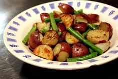 Roasted Green Beans and Potatoes | Roasted potatoes and green beans | RECIPES | Pinterest
