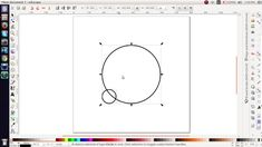 Inkscape tutorial - concentric circles - very simple process Inkscape Tutorials, Vector Graphics, Cnc, Circles, Cricut, Symbols, Make It Yourself, Simple, Icons