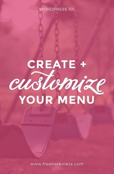 Create and Customize Your WordPress Menu - learn how to create and customize your Wordpress menus in this easy to follow tutorial. Learn How to add pages, categories, and links to your WordPress Menu, blogging tips, wordpress tips. Additionally learn how: