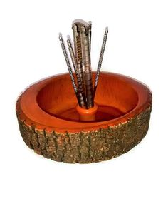 Vintage Nut Bowl & Tools by Ellwood Rusticware, http://www.amazon.com ...