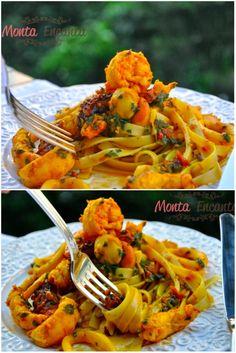 Surpreenda nesta Páscoa com este Spaghetti ai Frutti di Mare, macarrão, camarões lulas, vieiras, lagostins, polvo, um toque de açafrão, vinho branco e raspas de limão siciliano.