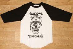 Obey Flip Cap Skull Baseball Tee White / Black £34.95