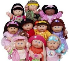 Cabbage Patch Kids! All the cool kids had one : P