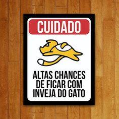 Placa Inveja do Gato - USQ USQ013