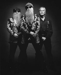 ZZ Top Billy- Houston, Dusty-Dallas, Frank-Dallas... Totally Texans