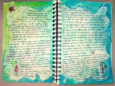Art journal ... vacation pages