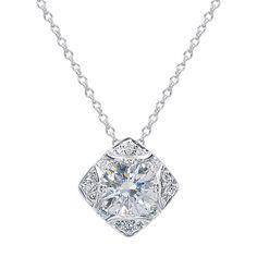 Capri Jewelers Arizona ~ www.caprijewelersaz.com Forevermark Pendant