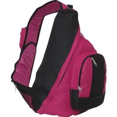 Sling backpack.
