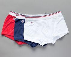Le Drapeau, pack de 3 boxeurs Multicolore Le Slip Français en vente chez L'Exception