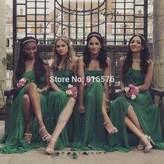 damigelle sposa in verde smeraldo - Cerca con Google