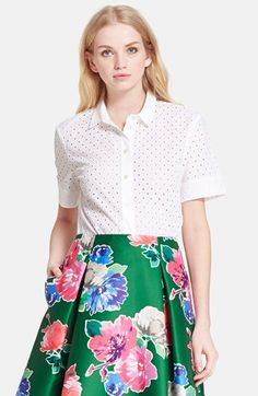 kate spade new york 'marissa' shirt available at #Nordstrom