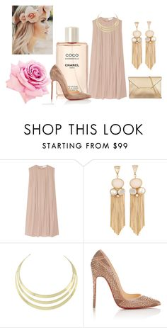 """""""gentle touch"""" by irina-style ❤ liked on Polyvore featuring CO, Atelier Mon and Christian Louboutin"""