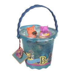 B. Toys Squirts Bucket Of Bath Toys £14.99