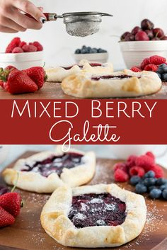 Mixed Berry Galette or Hand Pie