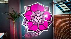 Bar Bodega, Wellington, New Zealand. Wellington New Zealand, Haunted Attractions, Most Haunted, Berlin Germany, Graffiti Art, Tattoo Studio, Walls, Bar, Wall