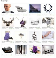 Purple = Mysterious?Elegant?Classic? Whatever as long as you LOVE purple!
