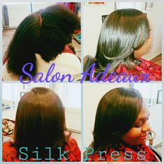 KMS Tame The Frizz Products Salon Adeaux  Silk Press