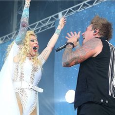 Gravity- love this song and LOVE Maria Brink!