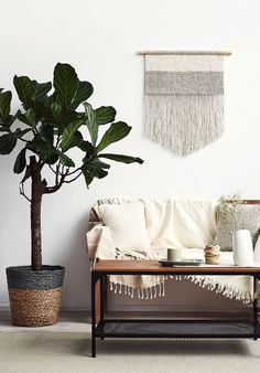 Handmade Macrame Wall Hanging | KNOTandLiving on Etsy