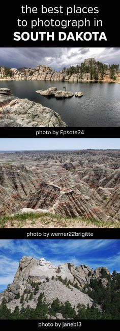 The Best Places to Photograph in South Dakota. Landscape, nature, photography, photos, planning, scouting, destinations, locations, map, Black Hills, Badlands National Park, Custer State Park, Wind Cave,  Needles Highway, Jewel Cave National Monument, Mount Rushmore, Crazy Horse Memorial, Spearfish Canyon, Bear Butte, Harney Peak, Palisades, Sand Lake National Wildlife Refuge, Waubay National Wildlife Refuge, #southdakota, #sd, #photography, #landscaphephotography