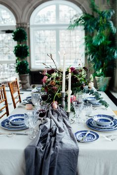 garden inspired wedding - photo by Sarah Kriner Photography http://ruffledblog.com/dutch-still-life-wedding-inspiration