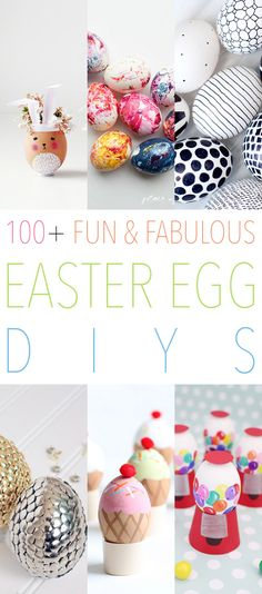 It's that time of year again…the Easter Bunny is hopping down the Bunny Trail and loves to see all of the Fun and Fabulous Easter Egg DIYs we create with our Kids and beyond!  He loves a beautiful Easter Basket and each and everyone one of these projects would make a basket proud!  There are …