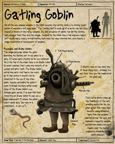 Labyrinth Guide-Gatling Goblin  by =Chaotica-I  Fan Art / Digital Art / Painting & Airbrushing / Movies & TV	©2011-2012 =Chaotica-I