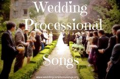 Trendy Wedding Songs For Bridal Party Processional 39 Ideas - Wedding Dress - Wedding Processional Music, Wedding Ceremony Music, Wedding Songs, Wedding March Music, Bridal March Songs, Bridal Chorus, Entrance Songs, Wedding Planning Binder, Summer Wedding Colors