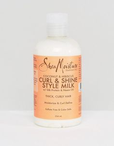 Shea Moisture Coconut and Hibiscus Curl & Shine Gel Style Milk
