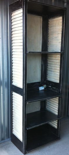 Repurposed Shelving Unit Made from Old Door and by relics4you, $325.00