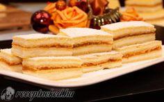 Mimóza szelet recept Vass Lászlóné konyhájából - Receptneked.hu Waffles, Pancakes, Breakfast, Food, Morning Coffee, Essen, Waffle, Pancake, Meals