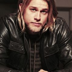 """Charlie Hunnam (English Actor) as Jax Teller in """"Sons of Anarchy"""""""