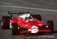 Andrea de Cesaris Alfa Romeo 180  GP Debut Montreal 1980