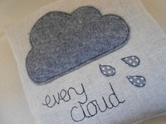 'every cloud' cushion