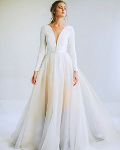 Leanne Marshall Spring 2020 Wedding Dress Collection Gorgeous Embroidered Off Shoulder Mermaid Wedding Dress Plus Wedding Dresses, Wedding Dress Trends, Gorgeous Wedding Dress, Colored Wedding Dresses, Long Dresses, Perfect Wedding, Bridesmaid Dresses, Leanne Marshall Wedding Dresses, Marshall Dresses