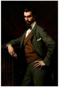 Théobald Chartran (French, 1849 –1907), James Hazen Hyde (1876-1959), 1901. Oil on canvas. New-York Historical  Society, Gift of James Hazen Hyde, 1949.1