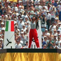Curiosidades da Copa: 1994 - Diva perde pênalti na abertura