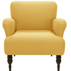 Found it at Joss & Main - Lori Linen Arm Chair $440 lots of colors