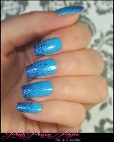 ~ Bleu et Paillettes http://www.makeupbee.com/look.php?look_id=78275