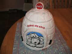 Coke Cookie Jar of mine that I bought at a thrift shop Coca Cola Kitchen, Cookie Jars, Coke, Thrifting, Tableware, Shop, Coca Cola, Dinnerware, Tablewares