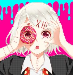 Tokyo Ghoul. Juuzou Senpai.  What really screwed me up was learning that this kid is actually a guy..