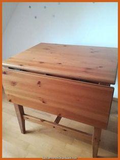 Verkaufe Esstisch Von Ikea Leksvik Nicht Mehr Verfugbar Massiv Holz Kieferknochen In 2020 Esstisch Holz Esstisch Ikea
