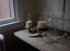 """Cakes from """"forty-sixth at grace"""": Just one of many baking inspirations from Nikole's beautiful blog."""